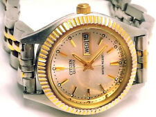 """VINTAGE SPECIAL 1970's """"CITIZEN"""" OYSTER (DAY DATE) JUBILEE WOMENS WATCH LOT-RR27"""