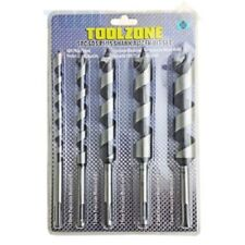Toolzone 5pc Barrena Drill Bit Set Madera Brocas SDS de vástago hexagonal 10 13 19 22 25mm