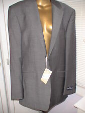 DANIEL HECHTER 40L RRP £180 Organic Wool Plain Charcoal Jacket