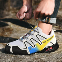 Men Breathable Hiking Climbing Shoes Running Sports Shoes Sneaker Outdoor New