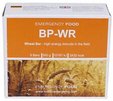 """10 x """"Notration BP-WR"""" von Trek' N Eat, Weizenriegel, 500 g, Notvorrat, Camping,"""