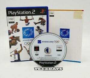 ATHENS 2004 - The OFFICIAL GAME of the OLYMPIC GAMES -Sony PlayStation 2 Ps2 VGC