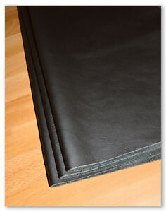 Leder Nappaleder Lederzuschnitt A3/A4 Larp keine Lederreste Schwarz, 1A Qualität