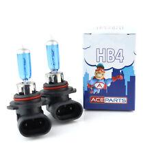 2x H4 Xenon Bulbs 55w 12v White To Fit Headlight Nissan Micra MK2 1.0i 16V