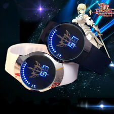 Fate/stay night Saber Digital Watch Cosplay LED Touch Screen Waterproof Watches