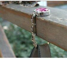 Folding Table Hook For Handbag - Silver