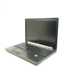 """HP EliteBook 8570w 15.6"""" Workstation i7-3630Q 2.4GHz 8GB Quadro K1000M 500GB HDD"""
