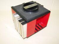 Alte DDR Kassettenbox Kult Retro Design 70er Jahre, rot