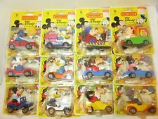1979 Matchbox Lesney Walt Disney Production Series Die-Cast Cars Set of 12 Rare