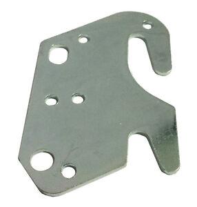 "Universal Wood Bed Rail 2"" Bracket Metal Claw Hook Plate - New!"