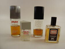 New listing Mens Musk Cologne Lot of 4 - Jovan, Prince Matchabelli, Coty