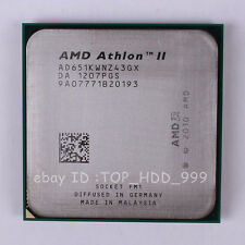AMD Athlon II X4 651K AD651KWNZ43GX Socket FM1 3 GHz Quad-Core CPU Processor
