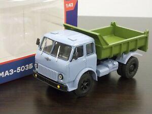 1:43 MAZ-503B 1965-1971 Dump Truck #18 Legendary Trucks (Modimio)
