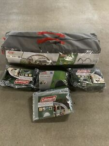 Genuine Coleman Event Shelter 4.5m x 4.5m XL With 4 Brand New Sun Walls RRP £450