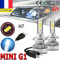 Ampoule H7 LED Voiture Feux Phare 110W 20000LM Lampe Remplacer HID Xénon 6000K