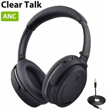 Avantree ANC032 Active Noise Cancelling Bluetooth Headphones Headset Mic Wired