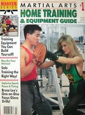 RARE 7/90 MARTIAL ARTS HOME TRAINING & EQUIPMENT GUIDE MIKE YOUNG KARATE KUNG FU