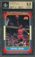 Michael Jordan Rookie Card 1986-87 Fleer #57 Authentic BGS 9.5 (9.5 9 9.5 9.5)