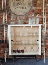 Shabby Chic Retro Vintage Cocktail / Drinks Gin Cabinet, Home Bar, Display Case
