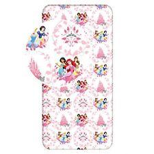 Princesses Disney - Drap Housse coton Ariel Jasmine