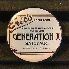 "GENERATION X Concert Ticket Stub Fridge MAGNET 2.25"" UK Punk Rock 1977 Tour"