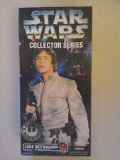 "STAR WARS BOXED Luke skywalker 12"" FIGURE DOLL KENNER 1996"