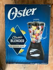 Oster Classic Series Blender With Glass Jar - 10 Speeds - Black - Pre-Owned