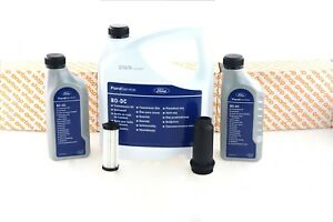 GENUINE FORD POWERSHIFT 6DCT450 MPS6 FLUID SERVICE KIT 7 LITRES TRANSMISSION OIL
