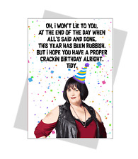 Nessa Birthday Card Funny Gavin and Stacey Card Humour him her mum dad friend