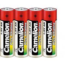 Set de 4 pilas/batería Camelion Alcalina Plus AA LR06 bajo celofán