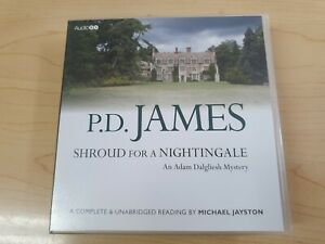 P D James: Shroud for a Nightingale (Audio CDs) Adam Dalgliesh Mystery