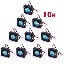 10X 12V DC Cooling Fan For 3D Printer RAMPS Electronics  Extruder - RepRap Prusa