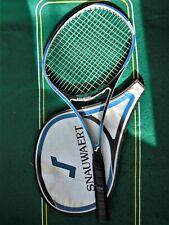 1983 Belgium Snauwaert Ergonom Graphite Midsize 90 16x18 Racket L4 MINT Belgium