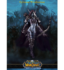 "6"" World of Warcraft Forsaken Queen Sylvanas Windrunner Action Figure New"