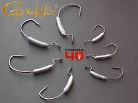 Weighted Worm Hooks weedless hook fishing split belly shad fishing