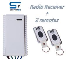 Schartec Mini Universal Remote Control kit Garage Door Opener 1-button Remote