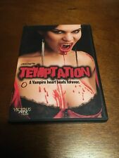 Temptation A Vampire Heart Beats Forever DVD 2010 Vicious Circle Films