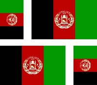 4x afghanistan  flag decals sticker bike scooter car vinyl luggage helmet