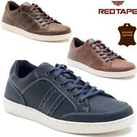 MENS REDTAPE LEATHER LACE UP DRIVING SMART CASUAL SHOES FASHION TRAINERS SIZES