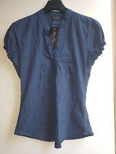 Marina Kaneva Ladies New Blue top blouse shirt Size 12