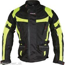 Richa Ridge Jacket Motorcycle Motorbike Black / Fluo Yellow Jacket cheapest