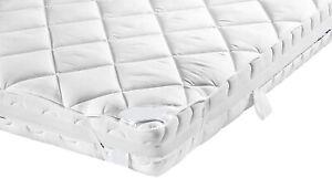 KESTEX Comfort Matratzen TOPPER 100% Baumwoll Auflage 4 Eckgummi 90x200 180x200
