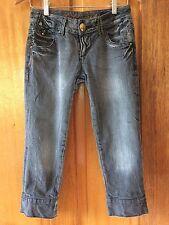 MISS SIXTY Grey Capris 3/4 Jeans. Limited Edition. Size 26 (XS). #Sunday Market