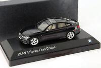BMW 4er 4 Series (F36) Gran Coupe schwarz 1:43 Kyosho