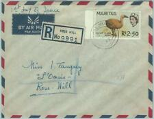 67537 - MAURITIUS - Postal History - Registered FDC COVER 1965 - BIRDS: 2.50 Rs