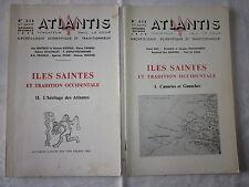 REVUE ESOTERIQUE: ATLANTIS ILES SAINTES et TRADITION OCCIDENTALE 1 et 2