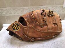 """Wilson USA  A2814 12.5"""" Big Scoop Baseball Softball First Base Mitt Right Throw"""