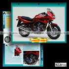 #077.03 Fiche Moto YAMAHA XJ 600 S DIVERSION (XJ600S) 2001 Motorcycle Card ヤマハ