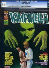 VAMPIRELLA #106 CGC 9.8 NM/MINT WHITE Enrich 1982 Warren