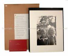 Rare Leica Photograph skar Barnack's Children Oskar Barnack Edition